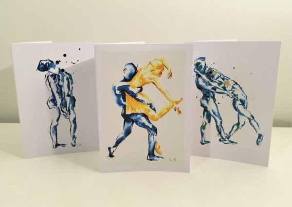 livvy king contemporary art cards